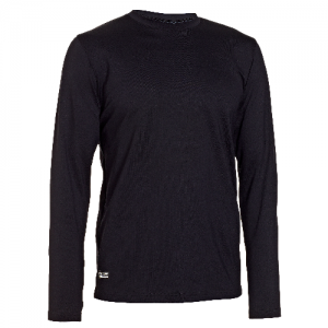 Under Armour Coldgear Infrared Men's Long Sleeve Compression Tee in Black - Medium