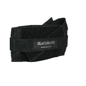 Blackhawk Belt Ambidextrous-Hand Belt Holster for Medium Revolvers in Black - 40FB02BK