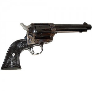 """Colt Single Action Army .357 Remington Magnum 6-Shot 5.5"""" Revolver in Case Hardened Blue (Peacemaker) - P1650"""