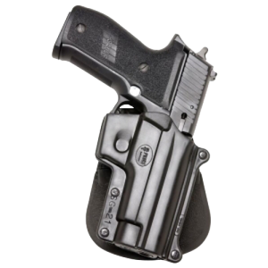 """Fobus USA Paddle Right-Hand Paddle Holster for Sig Sauer P220, P225, P226, P228, P245 in Black (4.4"""") - SG21"""