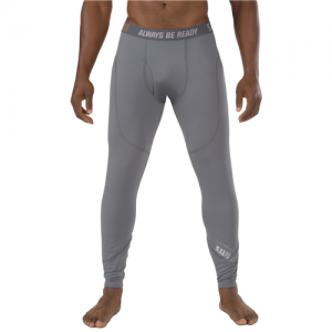 5.11 Tactical Sub Z Men's Compression Pants in Storm - X-Large