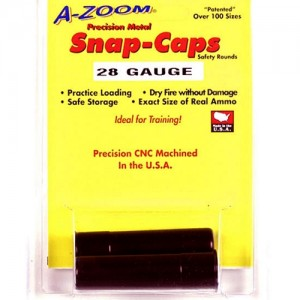 Azoom 28 Gauge Snap Caps 2 Pack 12214