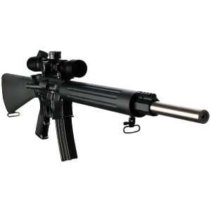 """DPMS Panther Arms Bull 20 .223 Remington 10-Round 20"""" Semi-Automatic Rifle in Black - RFTLBULL20"""
