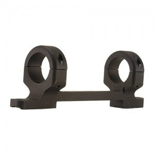 "DNZ Products 1"" High Matte Black Long Action Base/Rings/Remington 700 12700"