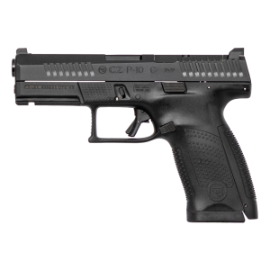 "CZ P-10 Compact 9mm 15+1 4"" Pistol in Black Nitride (Optic Ready) - 95130"