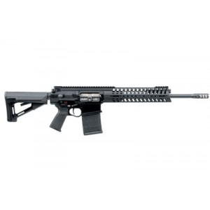 "Patriot Ordnance Factory P308 .308 Winchester/7.62 NATO 20-Round 16.5"" Semi-Automatic Rifle in Black - 425"