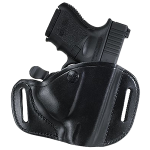Bianchi 22140 82 CarryLok Colt Officers; Kimber Ultra/Ultra 10 Leather Black - 22140