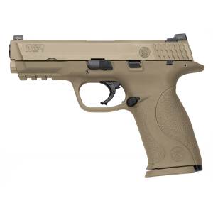 """Smith & Wesson M&P Full Size 9mm 17+1 4.25"""" Pistol in Flat Dark Earth (VTAC) - 209921"""