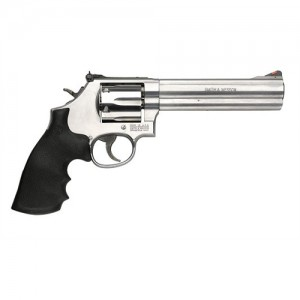 "Smith & Wesson 686 .357 Remington Magnum 6-Shot 6"" Revolver in Satin Stainless (Distinguished Combat) - 164224"