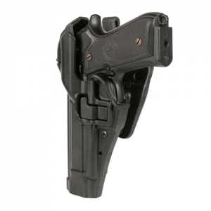 Blackhawk Level 3 Serpa Left-Hand Belt Holster for Heckler & Koch USP in Black - 44H114BW-L