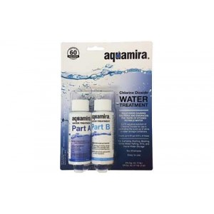Miraguard 2 Ounce Water Treatment Drops Aquamira Water Treatment Filters 60 Gallons, 2 Bottles 67203