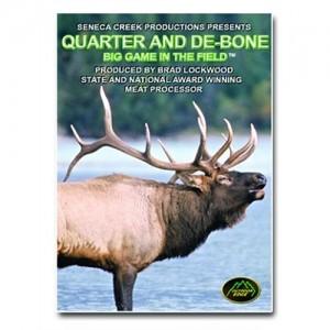 Outdoor Edge Quarter/Debone Big Game In The Field Instructional DVD QD101