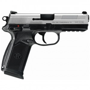 "FN Herstal FNX-45 .45 ACP 15+1 4.5"" Pistol in Stainless Steel (Manual Safety) - 66998"