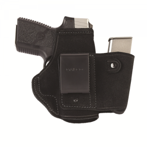 """Galco International Walkabout Left-Hand IWB Holster for FN Herstal FNS 9/40 in Black (4"""") - WLK227B"""
