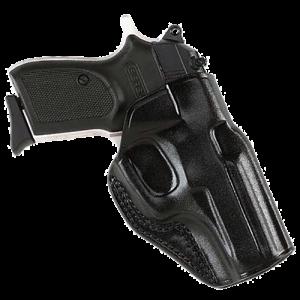 """Galco International Stinger Right-Hand Belt Holster for Kel-Tec P3At in Black (1.5"""") - SG436B"""