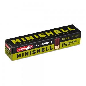 Aguila Minishell 4,1 Buckshot Non-Toxic 12 Gauge 4B (7), 1B (4) 11 total pellets Shot (20-Rounds) - 1C128970