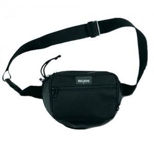 Bulldog Case Company Pistol Holster Waterproof Waist Bag in Black Nylon - BD860