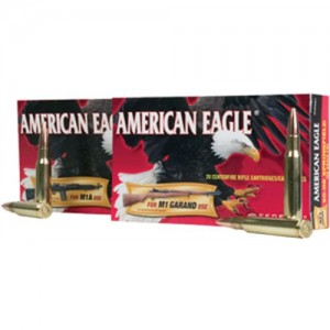 Federal Cartridge American Eagle Target .30-06 Springfield Full Metal Jacket, 150 Grain (20 Rounds) - AE3006M1