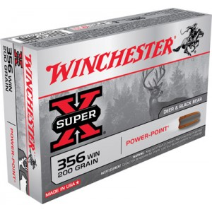 Winchester .356 Winchester Power-Point, 200 Grain (20 Rounds) - X3561
