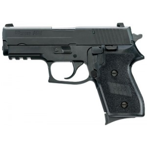 "Sig Sauer P220 Compact .45 ACP 6+1 3.9"" Pistol in Black Nitron (SIGLITE Night Sights) - 220COR45BSS"