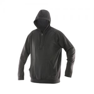 Tru Spec 24-7 Grid Men's 1/4 Zip Hoodie in Grey - Medium