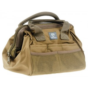 Drago Gear Ammo & Tool Range Bag in Tan 600D Polyester - 17301TN