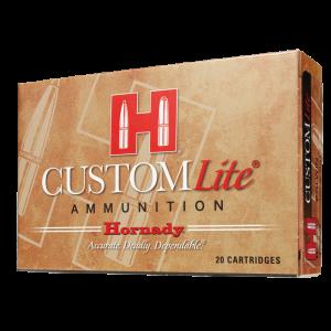 Hornady Custom Lite 7mm-08 Remington SST, 120 Grain (20 Rounds) - 80572