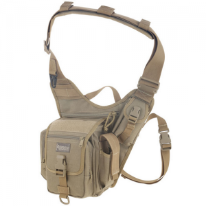 Maxpedition Fatboy Waterproof Sling Backpack in Khaki 1050D Nylon - 0403K