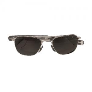5ive Star - AO  52MM Bayo Sunglasses Color: Silver