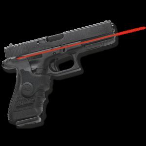 Crimson Trace LG417 Lasergrips Red Glock Gen3 Full Size 17/19 Front Actvation