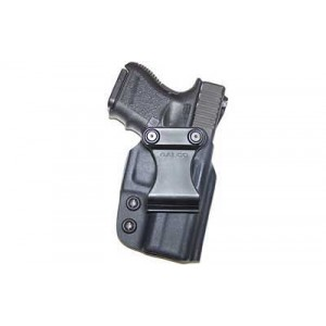 "Galco International Triton Right-Hand IWB Holster for 1911 in Black Kydex (3"") - TR424"