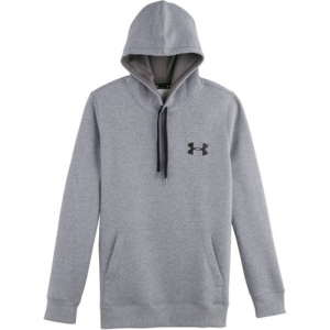 Under Armour Storm Transit Women's Pullover Hoodie in True Gray Heather/Black - 3X-Large