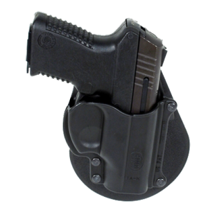 Fobus USA Roto Paddle Right-Hand Paddle Holster for Taurus Millennium in Black - TAMRP