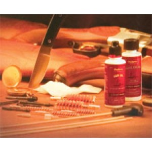 Outers Universal Cleaning Kit For Rifles, Shotguns and Pistols - Complete 17-Piece Kit for Thorough Gun Care - All Calibers 98210