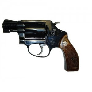 """Smith & Wesson 36 .38 Special 5-Shot 1.87"""" Revolver in Blued (Classic) - 150184"""