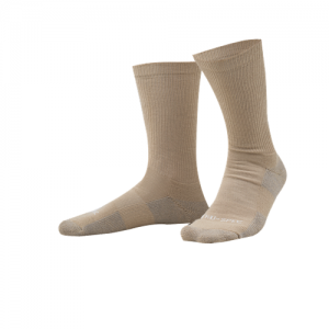 TruSpec - 6  Tactical Performance Socks Color: Tan Length: 9  Size: Large