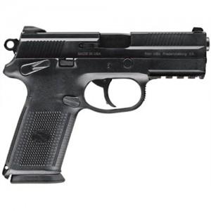 "FN Herstal FNX-9 9mm 17+1 4"" Pistol in Black (Manual Safety) - 66822"