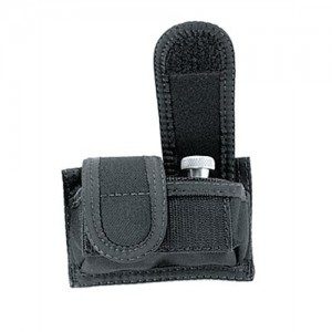 Uncle Mike's Double Speedloader Pouch Speedloader Pouch in Black Textured Nylon - 8828