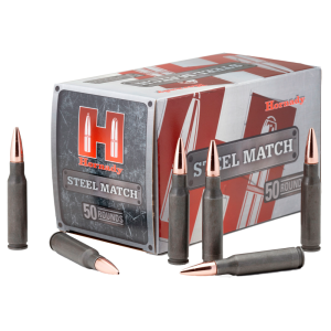 Hornady Match Grade .223 Remington Boat Tail Hollow Point, 75 Grain (50 Rounds) - 80261