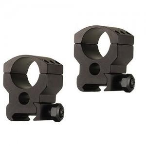 """Burris High 1"""" Matte Black Tactical Rings 420182"""
