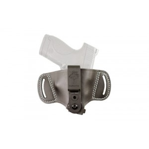 Desantis Gunhide 145 Outback IWB/OWB Ambidextrous-Hand Belt Holster for Large Autos/Small Revolvers in Black - 145BJG2Z0