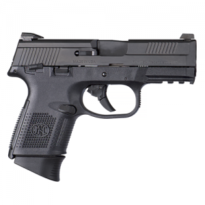 "FN Herstal FNS-9 Compact 9mm 17+1 3.6"" Pistol in Black (Manual Safety) - 66788"