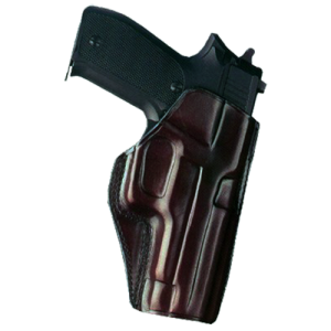 """Galco International Concealed Carry Right-Hand Paddle Holster for 1911 Officer's in Black (3.5"""") - CCP218B"""