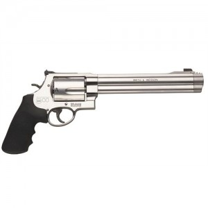 "Smith & Wesson 500 .500 S&W 5-Shot 8.37"" Revolver in Satin Stainless - 163500"