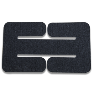 Vertx/Fechheimer BAP Belt Adapter in Black Velcro One-Wrap - VTX5135