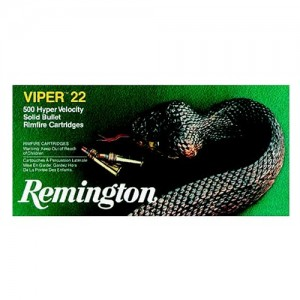 Remington Viper .22 Long Rifle Truncated Cone Solid, 36 Grain (50 Rounds) - 1922