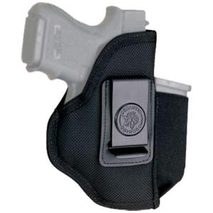 Desantis Gunhide Pro Stealth Right-Hand IWB Holster for Kahr Arms K40 in Black (W/ Magazine Pouch) - N87BJD6Z0
