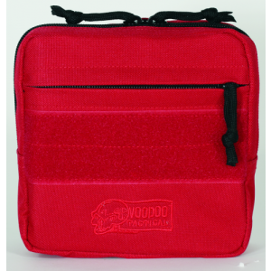 Tactical First Aid Pouch Color: Red