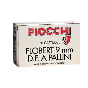 Fiocchi 9FLS8 Flobert 9mm #8 50Box/1Case