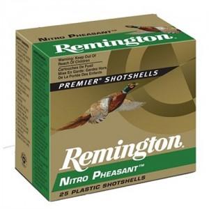 """Remington Nitro Pheasant Load .20 Gauge (2.75"""") 5 Shot Lead (250-Rounds) - NP205"""
